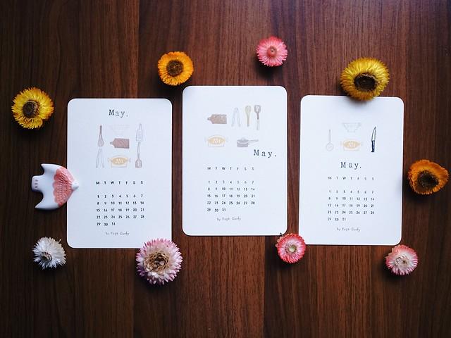 五月-小鳥與廚具