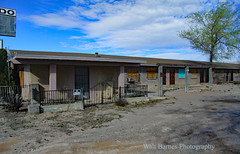 Route 66, Truxton, Arizona. (Walt Barnes) Tags: motel history vintage old historic structure architecture building ruins decayed canon eos 60d eos60d canoneos60d wdbones99 topazsoftware pse15 roadside streetscene street streetshoot truxton arizona route66