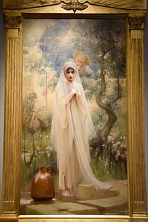 Annunciation By Arthur Hacker