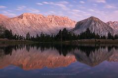 Sierra Nevada (Bob Bowman Photography) Tags: sierra highsierra sierranevada california johnmuirwilderness alpine lake mountains light trees elevation water backpacking
