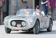 Mille Miglia, Gubbio 2017 (MikePScott) Tags: camera car events fiat1100spider gubbio italia italy marinobrandoli millemiglia nikon28300mmf3556 nikond600 transport umbria