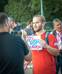 2017.07.26 Protest Trans Military Ban, White House, Washington DC USA 7623