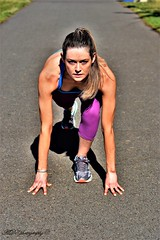 Failing is not an option! (Ad8photography) Tags: runner sports lady portrait model color nikond7200 50mm best