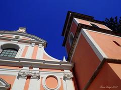 Particolare chiesa Santissima Annunziata (FIORE Luigi) Tags: allaperto architettura chiesa vicoequense campania campanile