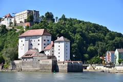 An der Mündung der Schwarzen Ilz in die Donau (peterwoelwer) Tags: passau bayern bavaria deutschland germany donau inn schwarzeilz ilz