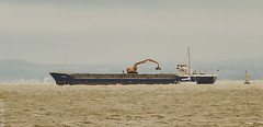 Union Pluto 2 (philbarnes4) Tags: ship boat cargo cargovessel philbarnes nikond5500 dslr dumptongap ramsgate broadstairs thanet kent england unitedkingdom yacht buoy grab