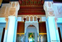 MAROCCO 01-2015 042 (Elisabeth Gaj) Tags: maroco012015 elisabethgaj marocco afryka travel architectura building bahiapalace