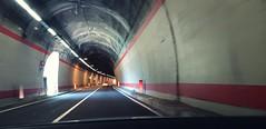 Quantum of Bond (No_Mosquito) Tags: tunnel road car lights lines curve driving garda lago italy quantum bond canon powershot g7xmarkii italia daniel craig speed traffic