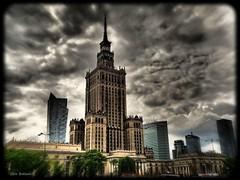 Skyline of Warszawa (Geir Bakken) Tags: dramatic skyline city lovelycity hipster warszawa poland perfectbeauty noperson bestpicture artistic cityscape mirrorless microfourthirds m43 yabbadabbadoo