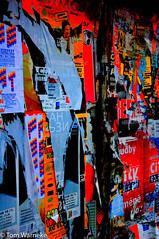 Prague Posters (Tom Warneke) Tags: czechrepublic posters colourful grafitti streetart prague streetsofprague hlavníměstopraha cz