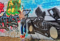 Shadow Beams (Ian Sane) Tags: ian sane images shadowbeams street artist wit witt graffiti wall spray paint alberta arts district northeast portland oregon canon eos 5ds r camera ef1740mm f4l usm lens