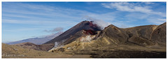 Whatever the angle this volcano is impressive (al3x!s) Tags: mountngauruhoe black blue brown cloud color colour d7000 geology gray grey landscape lava mountdoom mountains nature newzealand nikkor24mm nikon outside panorama photo purple red rock rocks sky sunlight travel volcano white yellow tongarironationalpark manawatuwanganui
