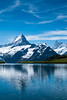 Bachalpsee Reflections (Gordon Mackie) Tags: alps schreckhorn finsteraarhorn bachalpsee berneseoberland grindelwald switzerland mountain reflection