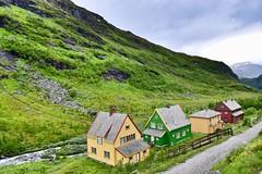 Myrdal, Norway (morston_max) Tags: view picturesque huts flåmsbana flam flåm myrdal norway
