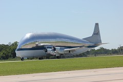 SLS Test Hardware Loaded into NASA's Super Guppy Aircraft (NASA's Marshall Space Flight Center) Tags: nasa nasas marshall space flight center launch system sls
