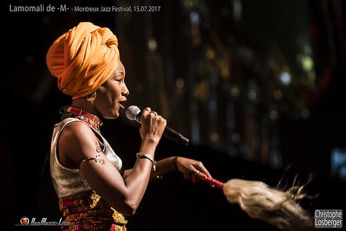 Lamomali de -M- @ Montreux Jazz Festival