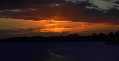 Windy  Water (Images by Jeff - from the sea) Tags: sunset dusk twilight clouds water landscape silhouette burnettriver bundaberg queensland australia nikon d7200 tamronsp2470mmf28divcusd 1500v60f sky
