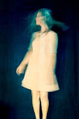 Moon waves (Ans van de Sluis) Tags: ansvandesluis female lowkey people portrait selfportrait woman july poetic ethereal blur moonwaves moon waves blue poetry fineart surreal longexposure