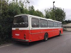 1970s Bristol RE Bus (Marc Sayce) Tags: 1970s bristol re bus national trent red white alton hampshire