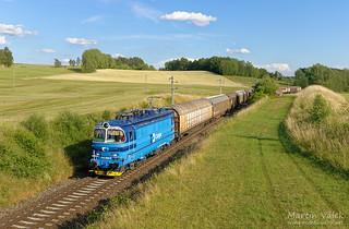 340.055 ČD Cargo, Summerau - Horní Dvořiště (Austria)