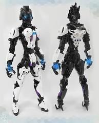 Artheona the Inquisitor (Darkraimaster99) Tags: bionicle darkdemon moc lego titan demon female femalebionicle bioniclemoc