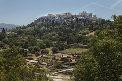 Αthens, ancient agora and Acropolis (SiV-Athens) Tags: athens greece ancient agora city outdoor acropolis αθήνα ακρόπολη αρχαία αγορά