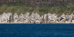 Cubism in Nature (Philip McErlean) Tags: cliffs chalk limestone basalt sea rathlin northern ireland cubist cubism faces