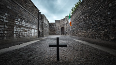Kilmainham Gaol - Dublin, Ireland - Travel photography (Giuseppe Milo (www.pixael.com)) Tags: rebel execution flag ireland old city rise country eastern travel history kilmainham dublin gaol jail rebellion prison politc cross countydublin ie onsale