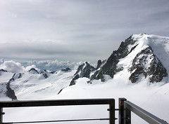 Alps Trip 1138m (mary2678) Tags: aiguille du midi chamonix europe honeymoon mont blanc mountain mountains sky cloud clouds snow rick steves myway way alpine tour french alps