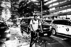 I love NY (Paolo Luppino 73) Tags: ny newyork travel people street urban jungle humans city blackandwhite biancoenero manhattan bycicle 35mm noir crossroad blackman