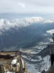Alps Trip 1103m (mary2678) Tags: aiguille du midi chamonix france europe honeymoon mont blanc french alps mountain mountains sky cloud clouds snow view peak rick steves myway way alpine tour