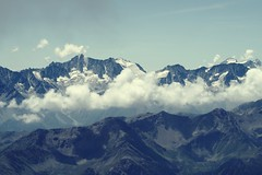 Silence (No_Mosquito) Tags: presanella clouds shadows view alps europe trentino monte vioz silence ice glacier rifugio mantova outdoor hiking peio canon powershot g7xmarkii italy pejo