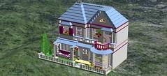 StephanieHouse13 (flight_claudia) Tags: lego creator expert digital design friends stephnies house building modular moc
