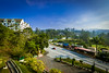 A view of the golf course and the main road (stratman² (2 many pix!)) Tags: canonphotography eos7dmarkii efs1022mmf3545usm ultrawide landscape sky cameronhighlands tanahrata