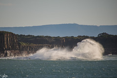Big Swells pounding the coast this day... (e0nn) Tags: sigma sigma50500apohsm pentax pentaxk1 ricoh kiama sunrise steveselbyphotography steev steveselby ocean lighthouse