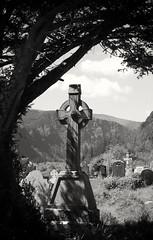 cross (NIKKI O BRIEN) Tags: glendalough co wicklow ireland leica monochrome blackandwhite bw digilux 2