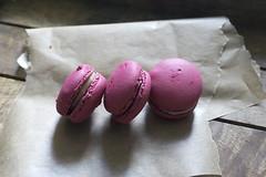 Raspberry Macarons (In a dream I was a werewolf_) Tags: macarons raspberry pink glutenfree meringue cookies dessert treat yummy foodphotography photography coeliacdisease gf