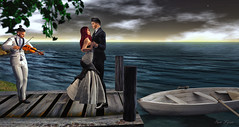 Inspired By: Twilight Romance By Steve Henderson (sam Lycan) Tags: wewanttobefree secondlife art avatar avi ava sl firestorm water vintage love couple michaelbuble stevehenderson beautiful partnerincrime dock boat violin music companion suit gown wcw mcm