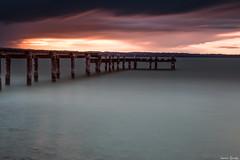 Steg in dunkel (ungesund) Tags: ammersee bayern graufilter nd sommer langzeitbelichtung