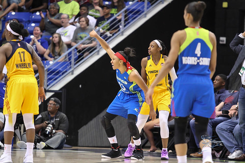 """Indiana Fever vs Dallas Wings • <a style=""""font-size:0.8em;"""" href=""""http://www.flickr.com/photos/10266314@N06/35342918604/"""" target=""""_blank"""">View on Flickr</a>"""
