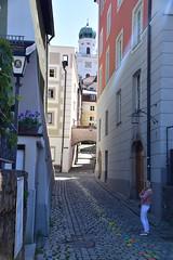 Blick auf den Dom (peterwoelwer) Tags: passau bayern bavaria deutschland germany donau inn schwarzeilz ilz