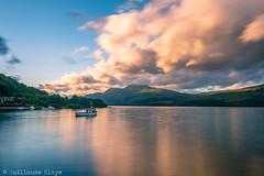 J13 - Loch Lomond Sunset (Darth Jipsu) Tags: loch lomond sunset trossachs pier water nationalpark naturalpark lochlomond lochlomondandthetrossachsnationalpark luss cloud light scotland royaumeuni gb