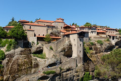 Grand Meteoron Monastery (Rodney Topor) Tags: greece meteora grandmetora monastery architecture fujifilmx100s