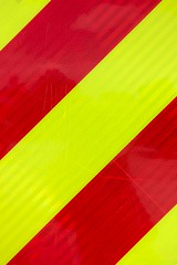 Reflective red and yellow stripes (Rushton Images Photography) Tags: red yellow diagonal stripe reflective scotchlite bright night visibility emergency fire rescue ambulance ems safety usa