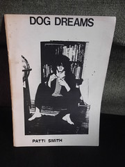 27th July 2017 (themostinept) Tags: pamphlet pattismith dogdreams booklet poetry black white print