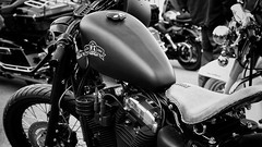 Old No. 7. (SkipperWP) Tags: oldno7 harleydavidson custom motorcycles motorcycle bike customized monochrome artistic art fineart fineartphotography blackwhite bw blackandwhite