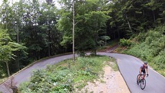 The Day Of Many Turns (29in.CH) Tags: summer road bike ride 26072017 yuneec breeze drone hairpin turn climb