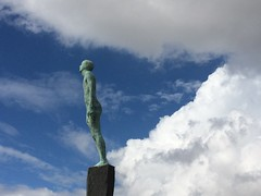 Consumed by clouds (markshephard800) Tags: depression standing liberty freedom framing statue human man clouds sculpture art hull