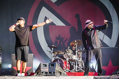 Prophets Of Rage @ Hellfest 2017, Clisson | 18/06/2017 (Philippe Bareille) Tags: prophetsofrage funkmetal rapmetal hardrock alternativemetal american hellfest clisson france mainstage 2017 music live livemusic festival openair openairfestival show concert gig stage band rock rockband metal heavymetal canon eos 6d canoneos6d musicwavesfr musique artiste scène chuckd singer vocalist frontman publicenemy breal cypresshill bradwilk drummer drums musician rageagainstthemachine