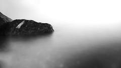 Croc or rock?? (Michael Kalognomos) Tags: blackwhite longexposure sea rocks greece kantia milkysea landscape water waterfront ef24105mmf4l canoneos5dmarkiii monochrome bw minimal